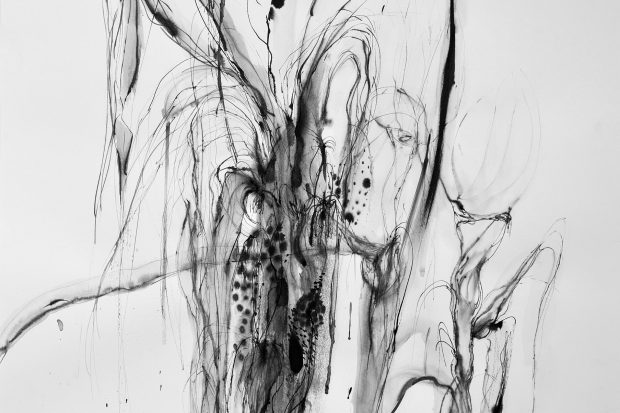 73x110 cm Ink on paper 2018 5